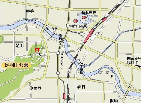 足羽神社地図